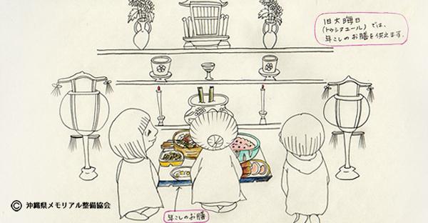 【沖縄の御願】旧暦の大晦日。沖縄で迎えるトゥシヌユール