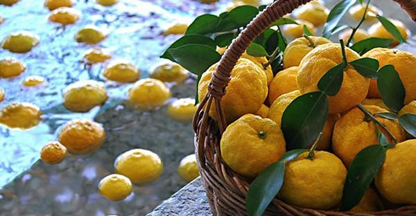 全国の冬至、柚子湯の入り方☆年中行事を楽しむ