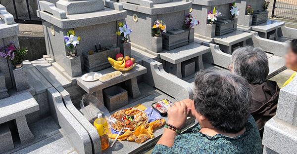 ジュールクニチ(十六日)☆離島地域に多いお墓参り行事