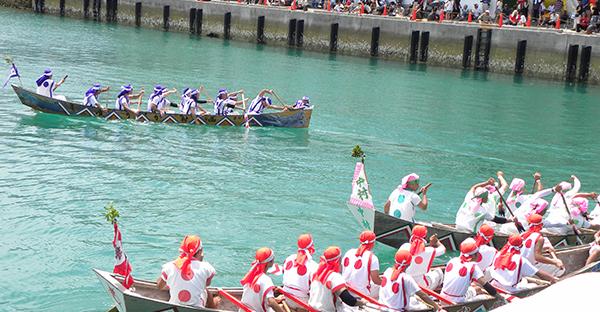 【沖縄の御願】旧暦五月、ユッカヌヒーはハーリー大会!