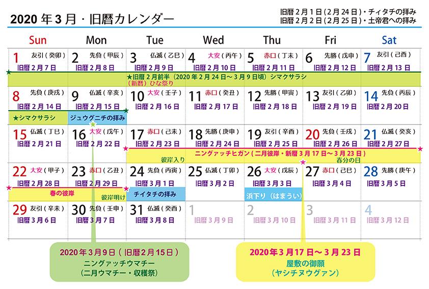 【沖縄の旧暦行事】旧暦二月☆ウマチーやシマクサラシ